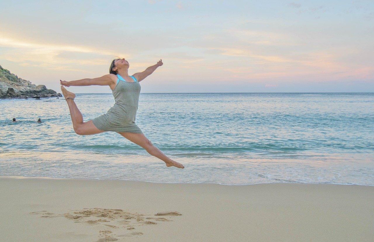 Dansend op de golven van het leven